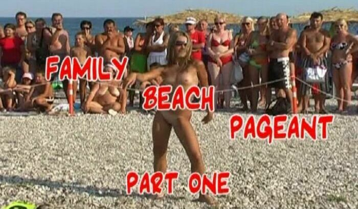Family Beach Pageant part1-Miss Nudist Junior