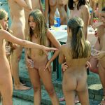 young nudist family