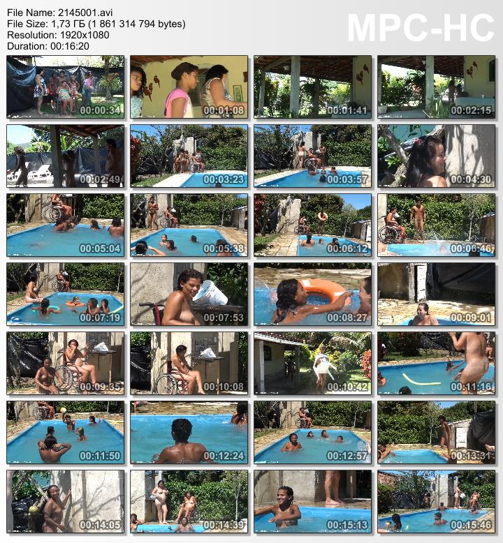 Oceanic Backyard Noon Brazilian Nudist Family Events
