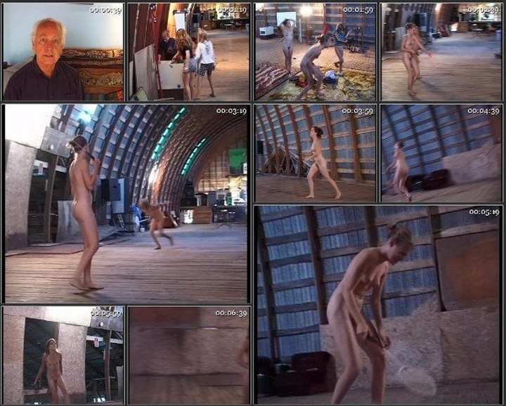 Naturist teens gym - young models