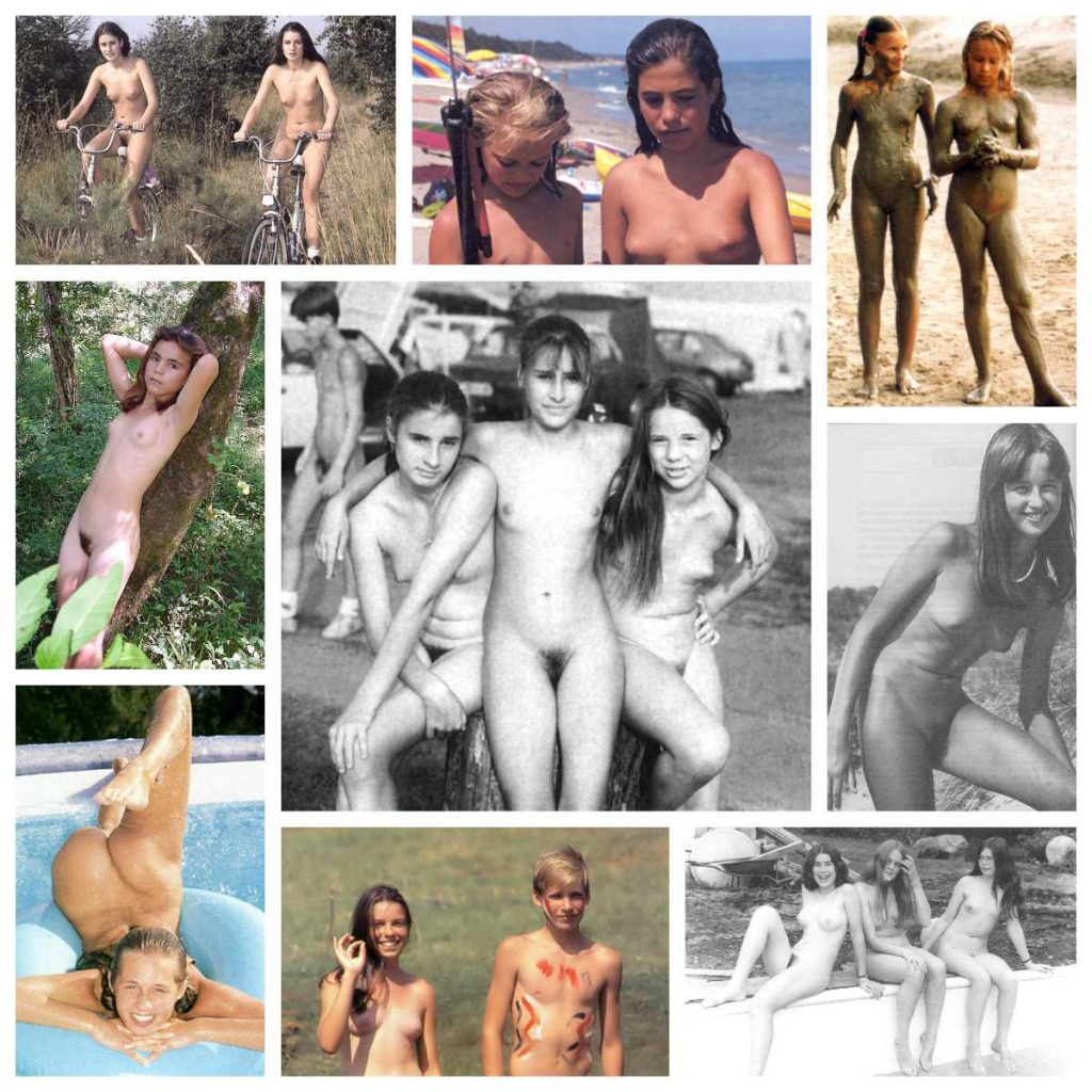 Naturist gallery of retro pictures of family nudism