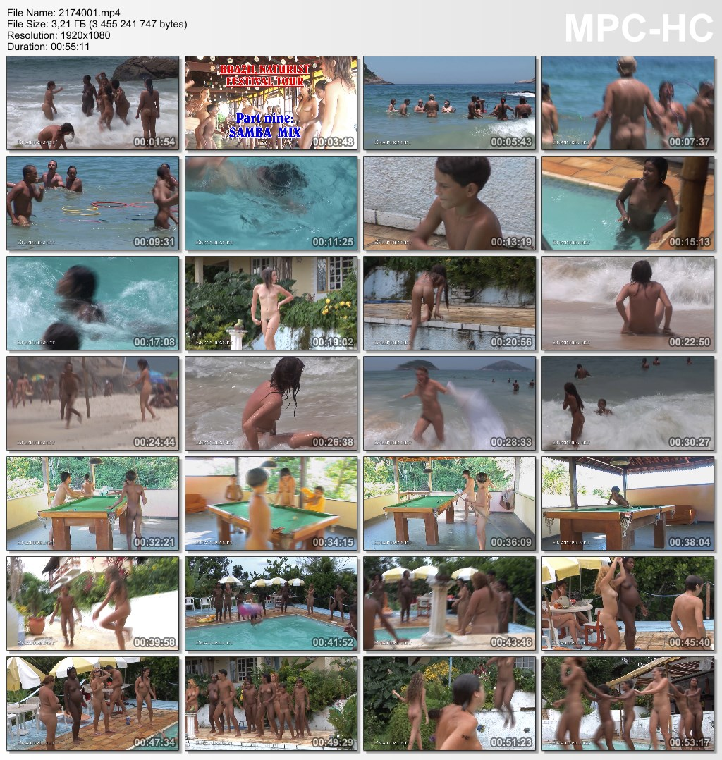 Brazil naturist festival tour - Part nine: SAMBA MIX